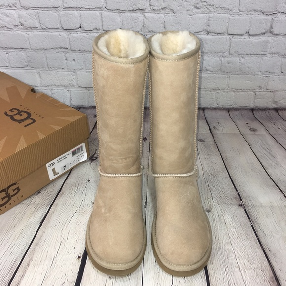 b266c53a22c UGG Classic Tall Sand Boots